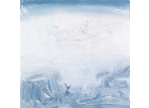 Eti Jacobi, Untitled 13, acrylic on canvas, 100x100 cm, 2011