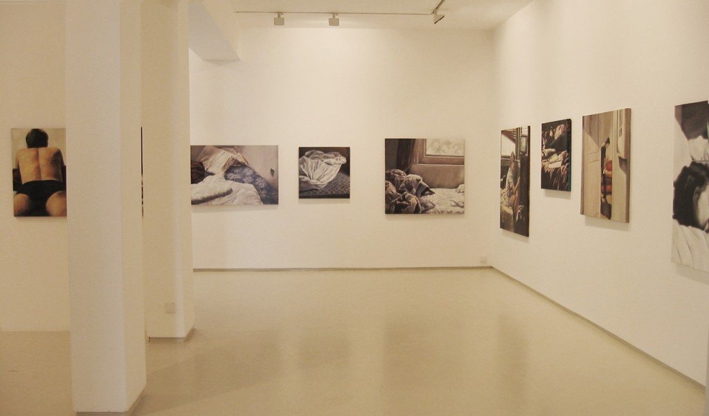 Bedroom eyes, Exhibition view, Noga Gallery of Contemporary Art, 2003