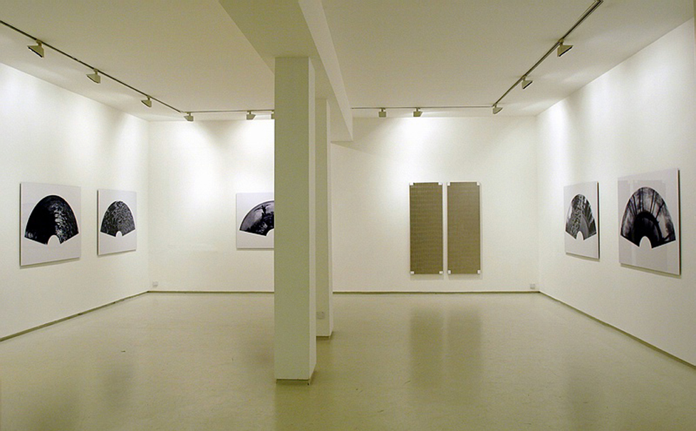 Mirrors, the Garden/ Anamorphoses, Installation view, Noga Gallery of Contemporary Art, 2003