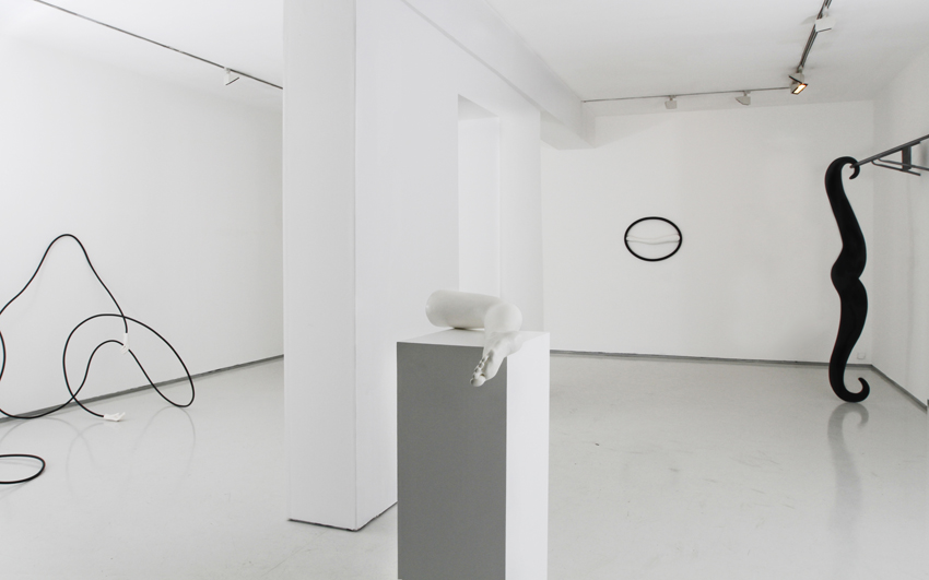 Man Without Qualities, Installation view, Noga Gallery of Contemporary Art, 2015