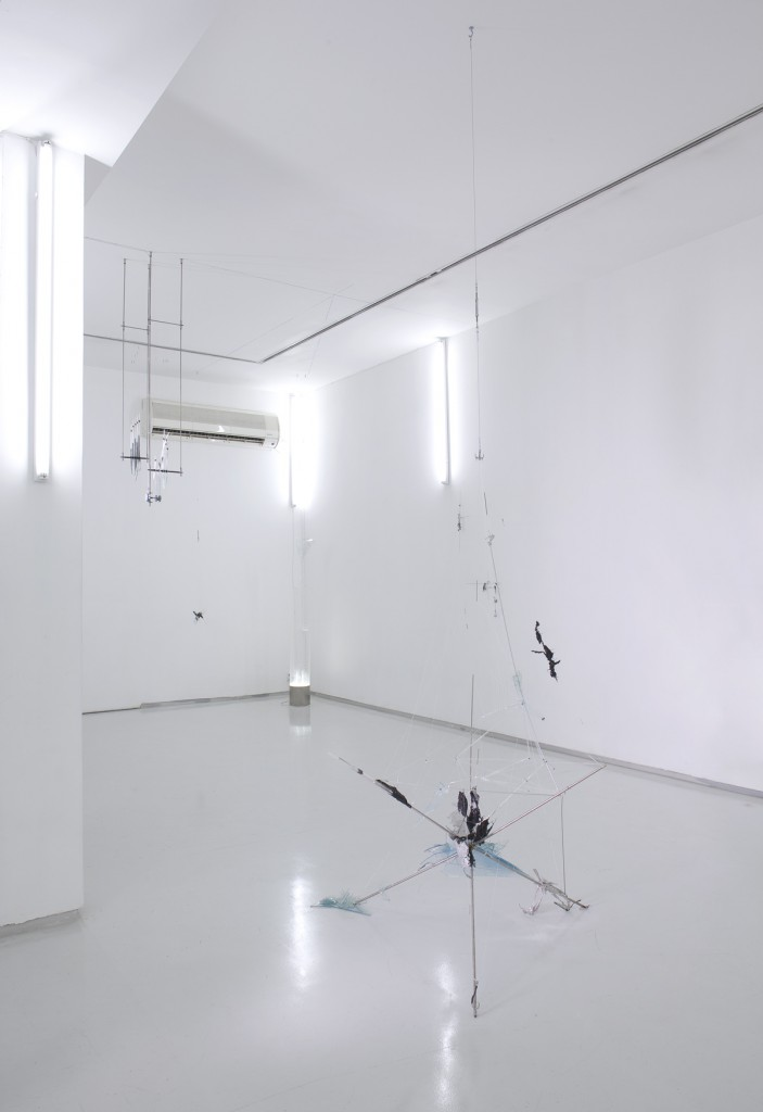 Shahar Yahalom, -80, installation view, Noga Gallery of Contemporary Art, 2009