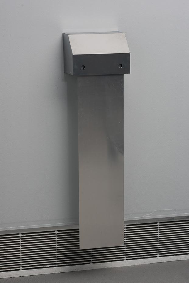Toony Navok, Aluminum-Towel Unit, 35x120x20cm,CCA Tel Aviv, 2015