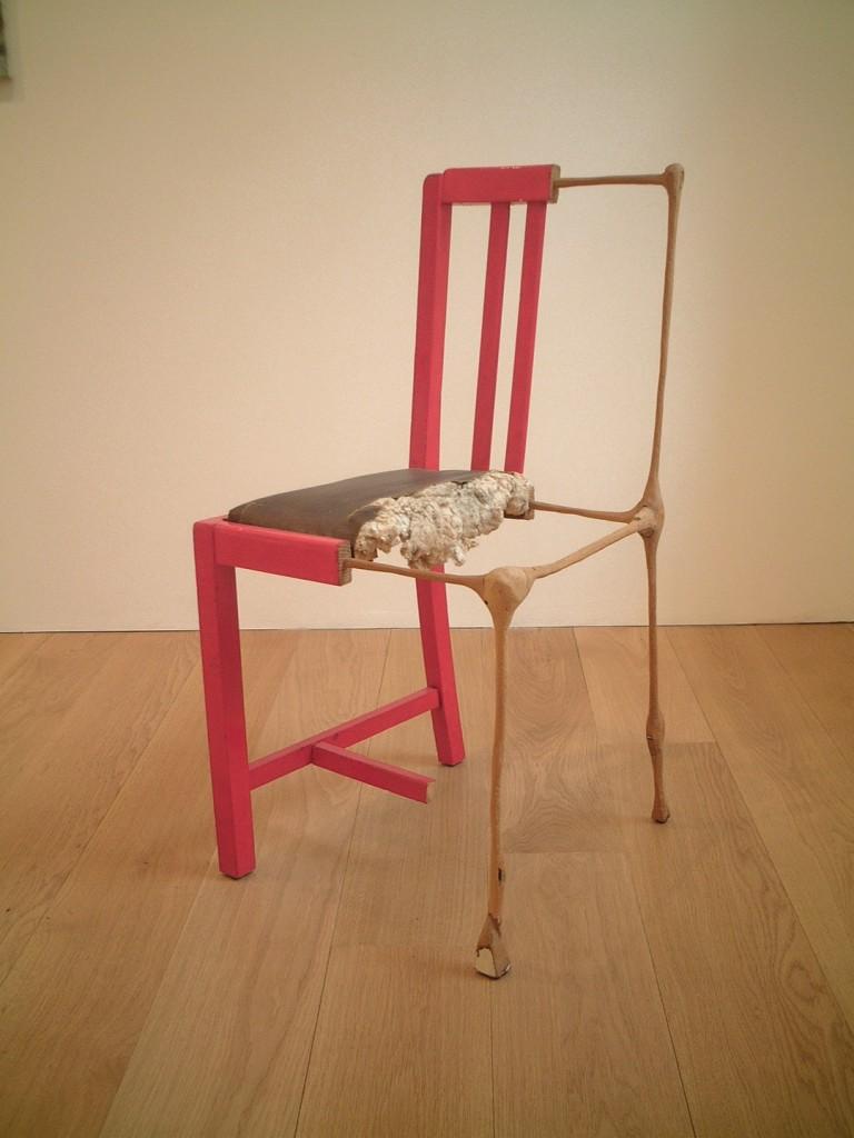 Amikam Toren, Actuality, Chair, 84x43 x43 cm, 1983-1984