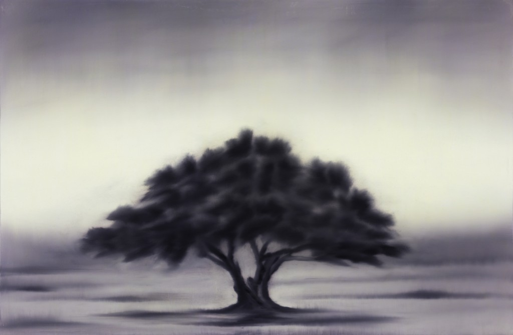 Ash Tree, oil on canvas, 145x95cm, 2014