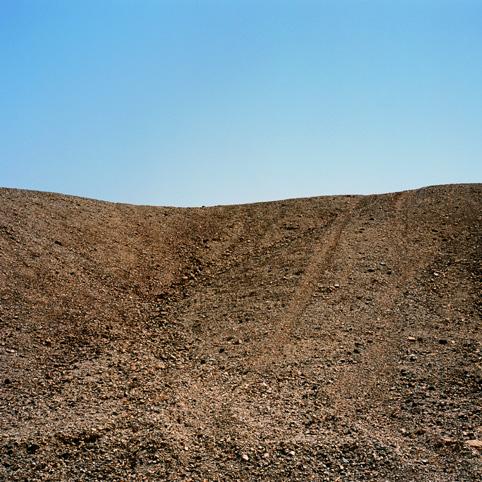 Desert #3, color print, 126x126cm, 2003