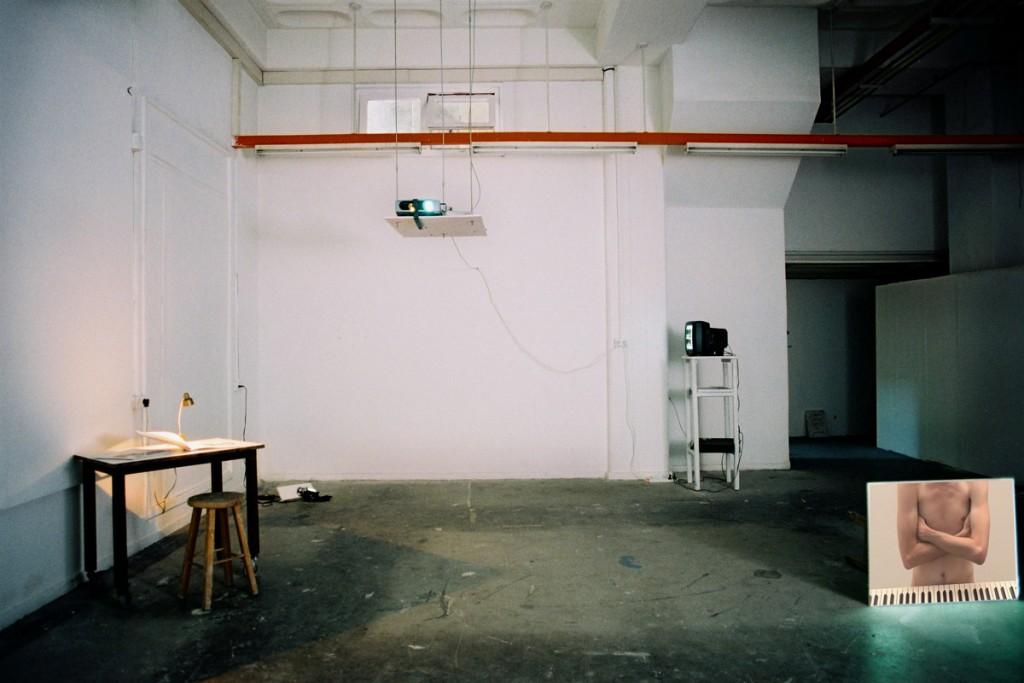 Talia Keinan, Degree show, Installation view, Bezalel Academy, 2003