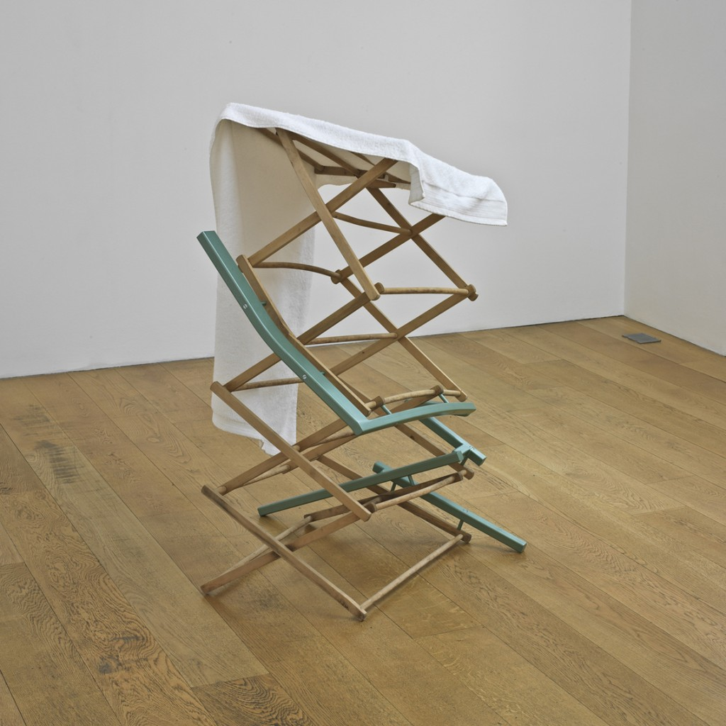 Amikam Toren, Deus Ex Machina, Wood, metal cotton, 115x77x77cm, 2006
