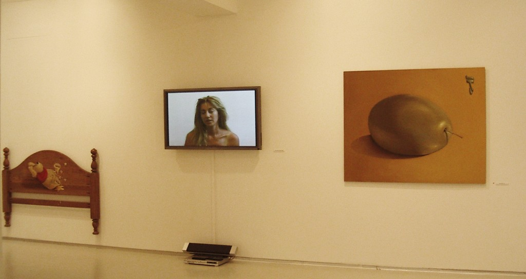 Crimes of the Heart, Exhibition view, Noga Gallery of Contemporary Art, 2004
