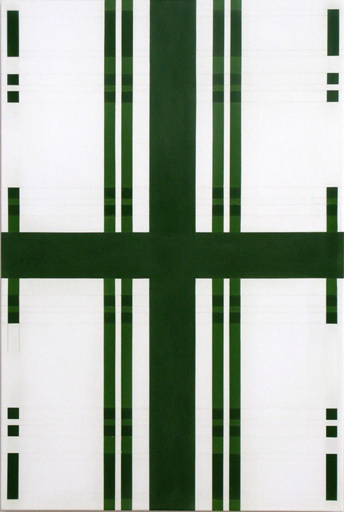 Vera Icon 6, Tempera on Gesso on Wood, 60x40cm, 2008