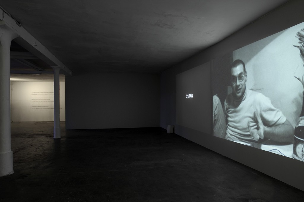 Keren Cytter, Installation view, KW Institute for Contemporary Art, Berlin, 2006