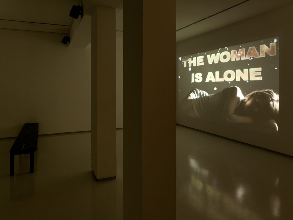 Video Art Manual, Installation view, Noga Gallery of Contemporary Art, 2012