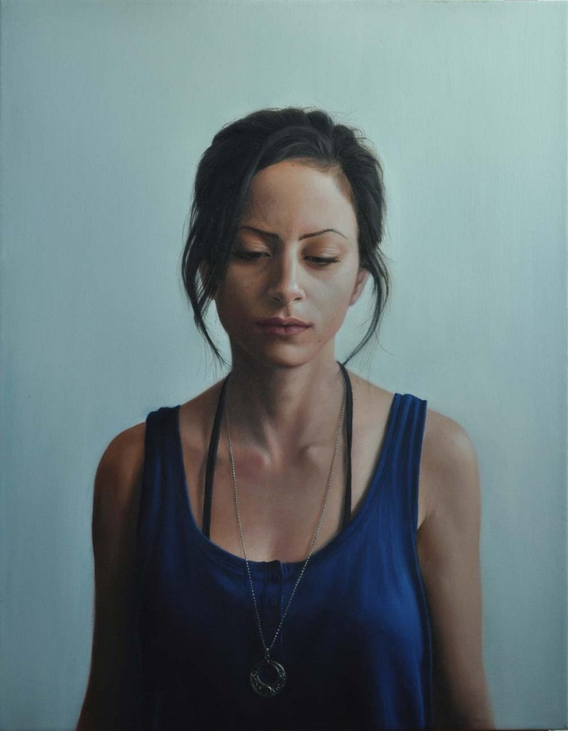 Michael Halak, Lillian, Oil on Canvas, 70x55cm, 2011