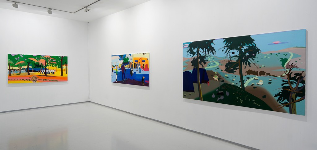 Times in, Installation view, Noga Gallery of Contemporary Art, 2012