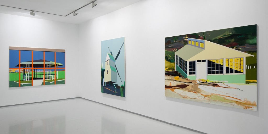 Moon Walks, Exhibition view, Noga Gallery of Contemporary Art, 2013