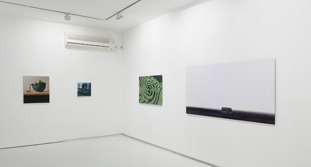 July, Exhibition view, Noga Gallery of Contemporary Art, 2010