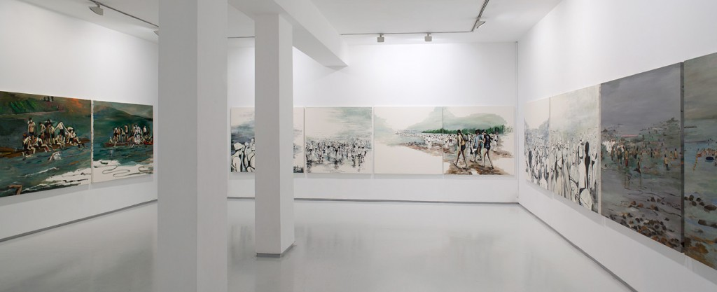 Sea of Galilee, Exhibition view, Noga Gallery of Contemporary Art, 2012