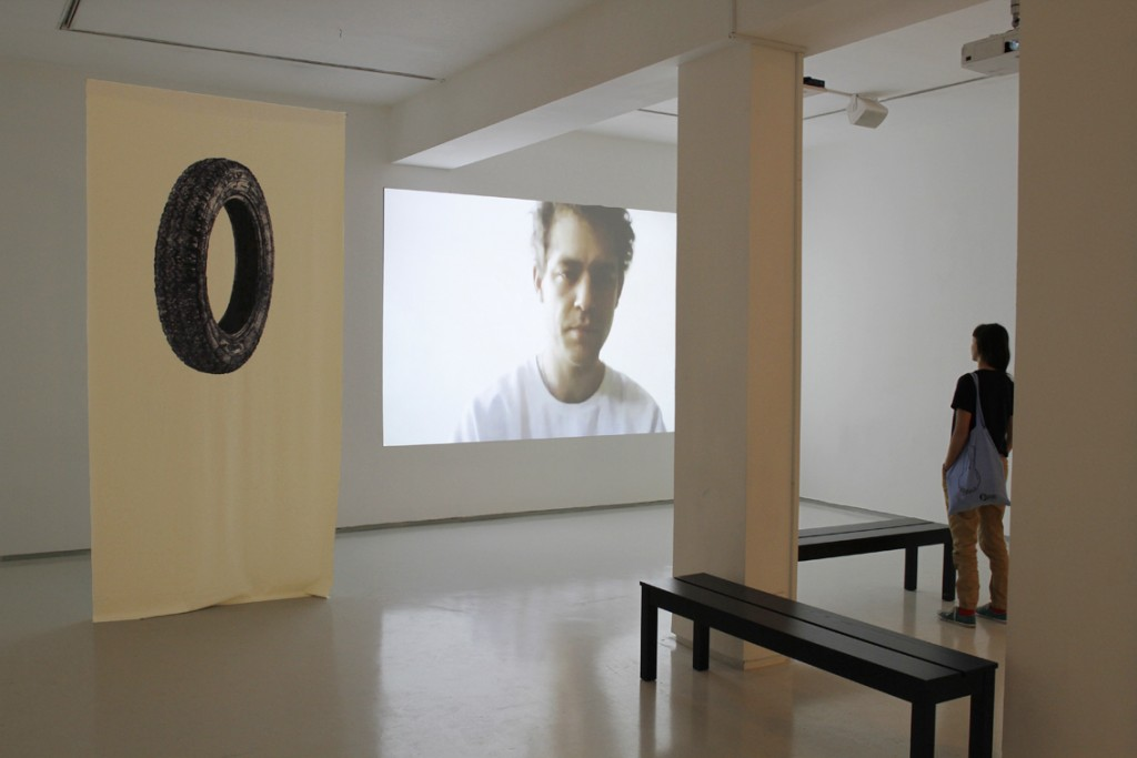 Here and There, Installation view, Noga Gallery of Contemporary Art, 2015