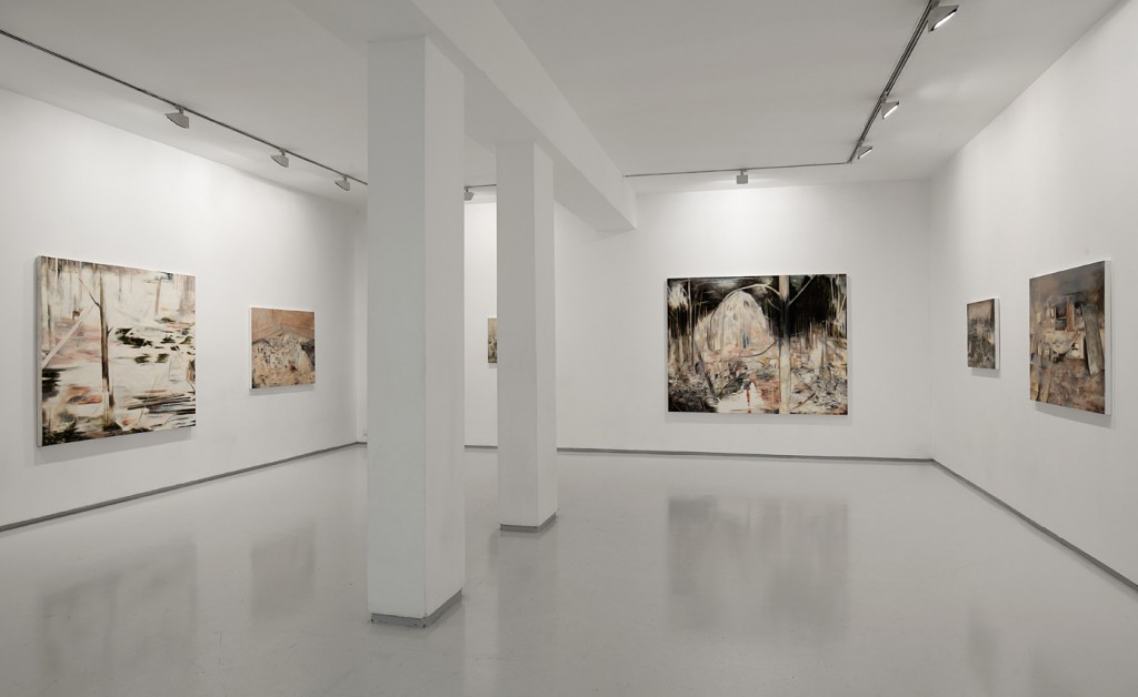 Circles of Time, Exhibition view, Noga Gallery of Contemporary Art, 2012