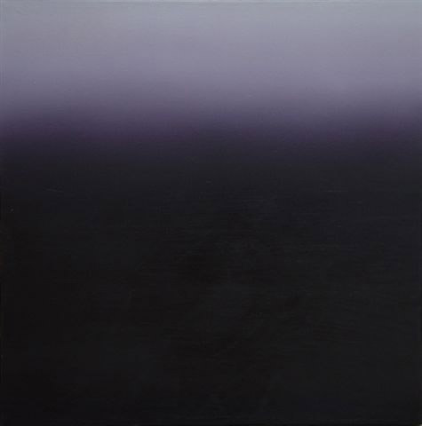 Mosh Kashi, Purple, Oil on canvas, 80x80cm, 2003