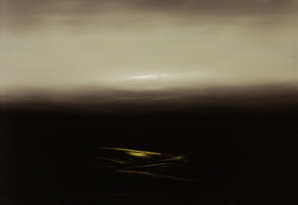 Nocturno Land, Oil on canvas, 160x120cm, 2014