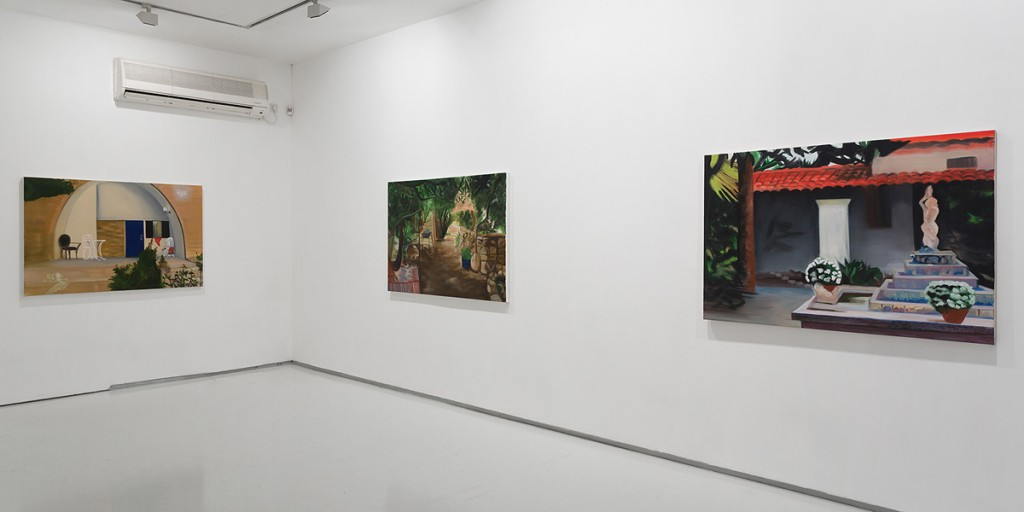 Frontier, Exhibition view, Noga Gallery of Contemporary Art, 2013