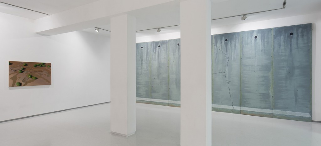 Cracks, Exhibition view, Noga Gallery of Contemporary Art, 2014