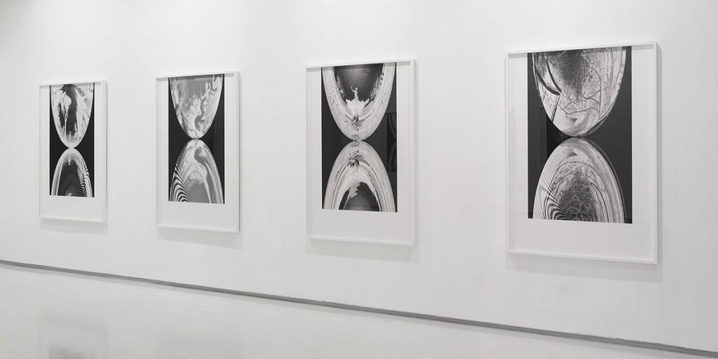 Mirrors, The Garden (3), Exhibition view, Noga Gallery of Contemporary Art, 2014