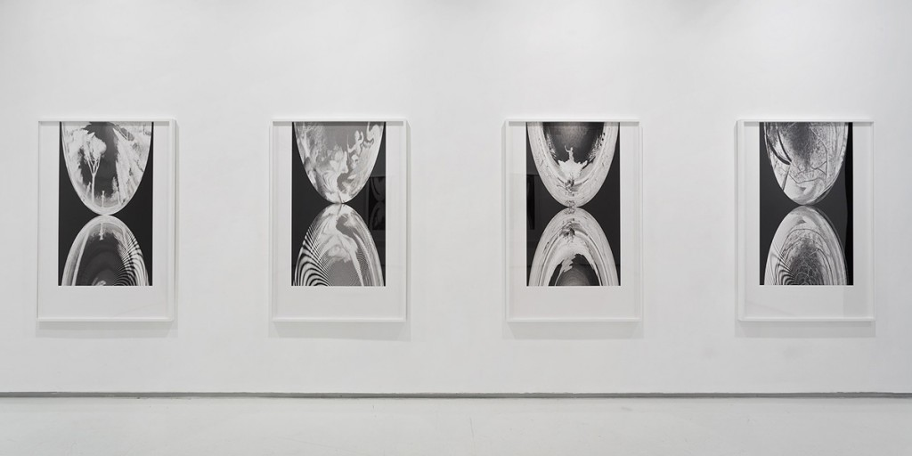 Mirrors, The Garden (3), Exhibition view, Noga Gallery of Contemporary Art, 2014