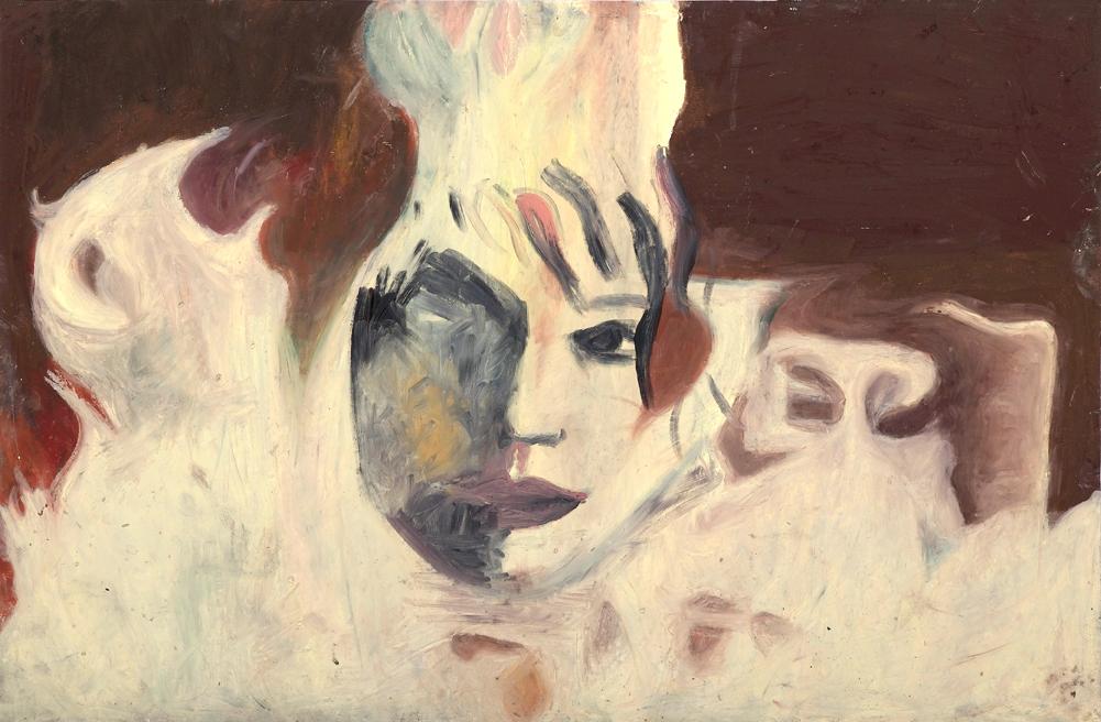 Firey, Pastel on Paper, 70x100cm, 2011