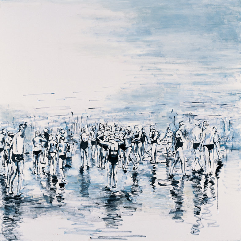 Untitled 21, oil on canvas, 140x140cm, 2012