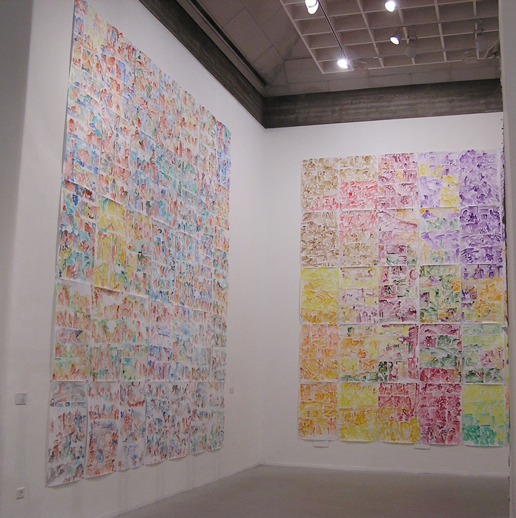 Eti Jacobi, Points of View, Installation View, Tel Aviv Art Museum, 2004
