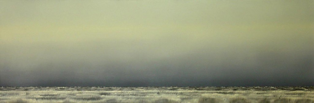 Field, oil on canvas, 160x160cm, 2003