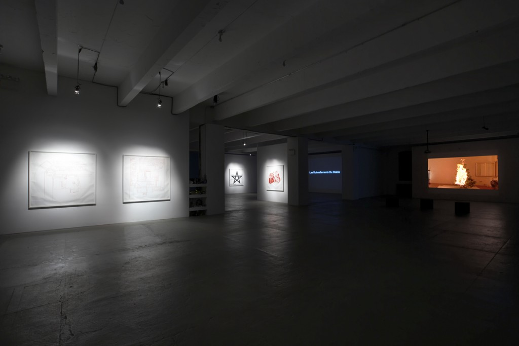 Keren Cytter, The Mysterious Series, Installation view,X Initiative, New York, 2009