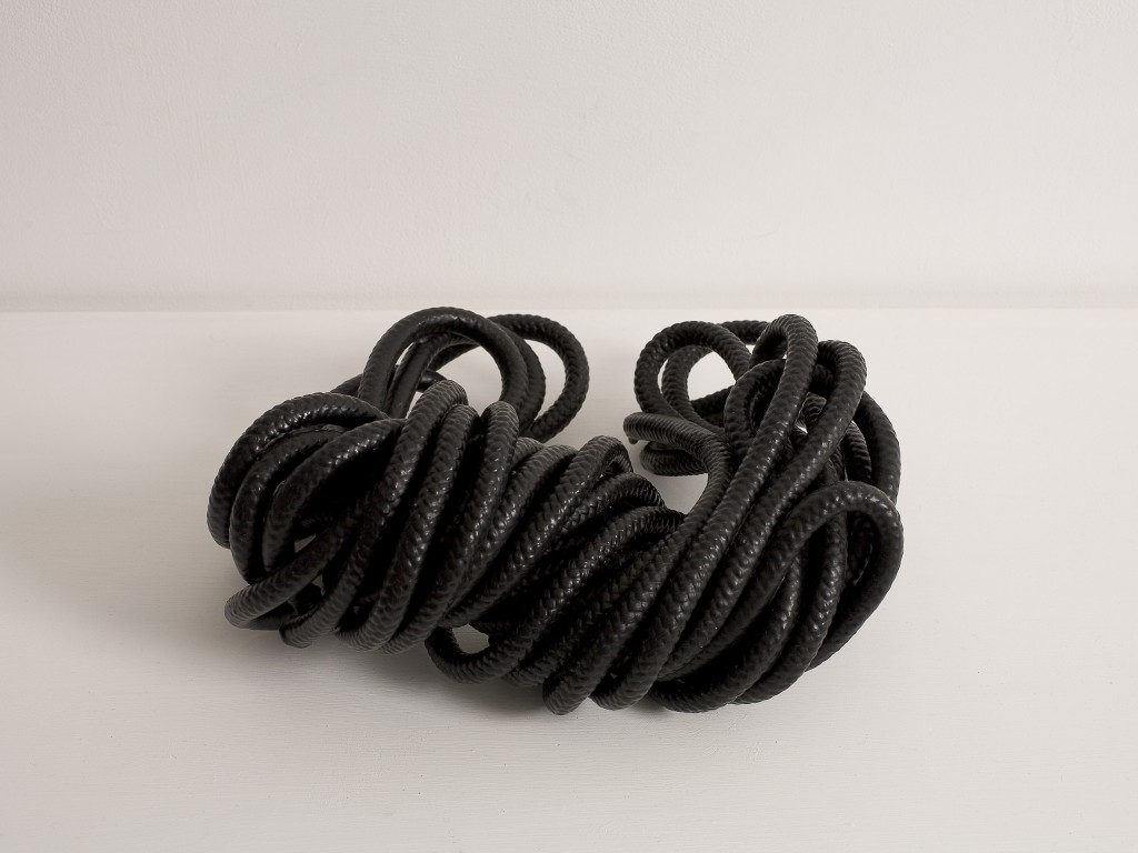 The Rope, Synthetic Rope, Wax, 2008