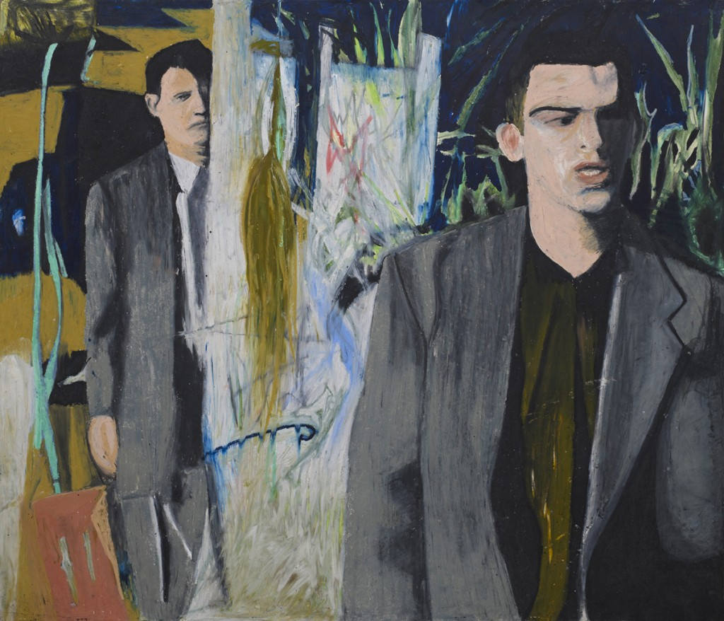 Oren Ben Moreh, The Spies, Pastel on Paper, 110x130cm, 2010