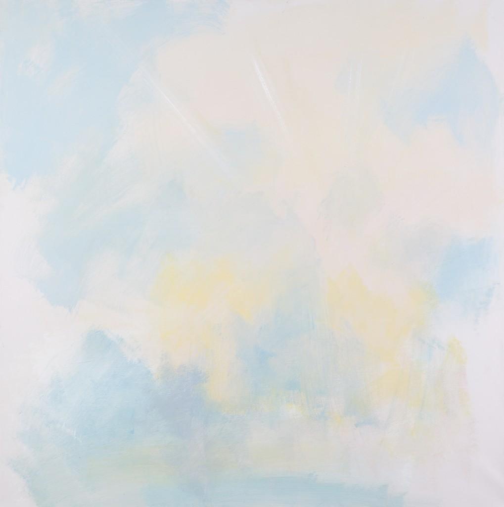 Eti Jacobi, Untitled #6 ,Acrylic on Canvas, 100x100cm, 2011