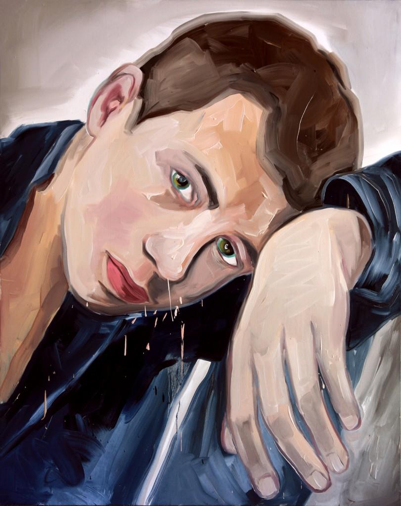 Jossef Krispel, Untitled, Oil on canvas, 120x150cm, 2011