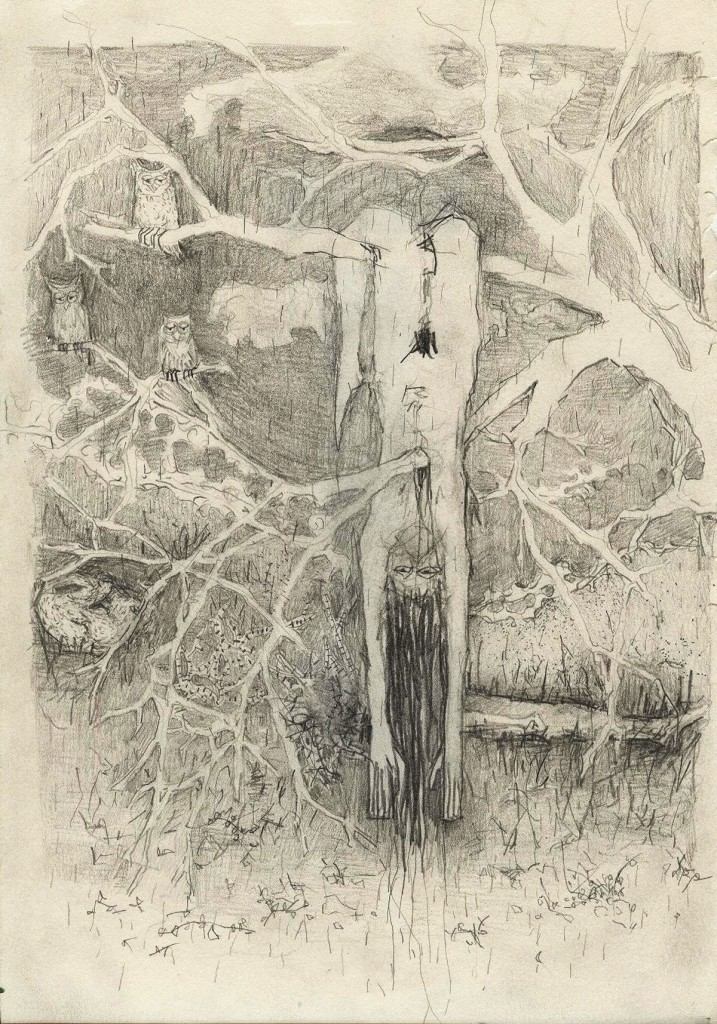 Shahar Yahalom, Untitled, Pencil on paper, 30x20cm, 2012
