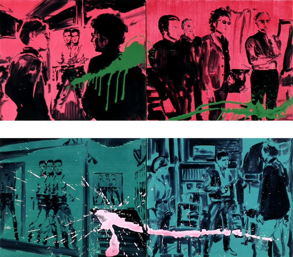 Jossef Krispel, Untitled, Acrylic on canvas, 70x60cm, 2007