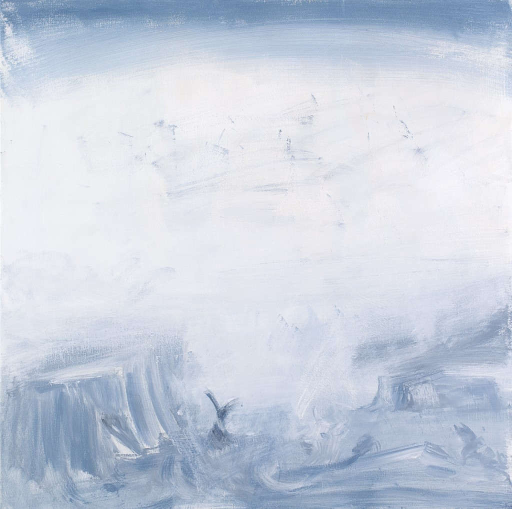Untitled #13, acrylic on canvas 100x100cm, 2011
