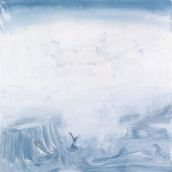 Untitled 13, acrylic on canvas, 100x100 cm, 2011