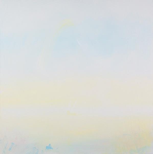 Untitled 3, acrylic on canvas, 100x100 cm, 2011