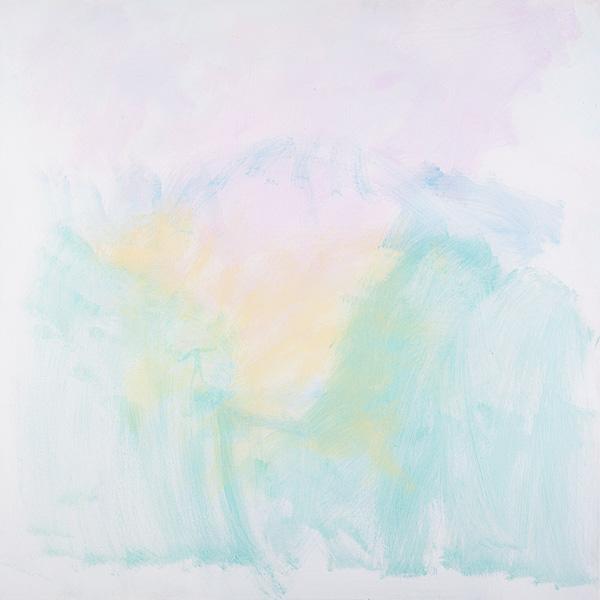 Untitled 7, acrylic on canvas, 100x100 cm, 2011