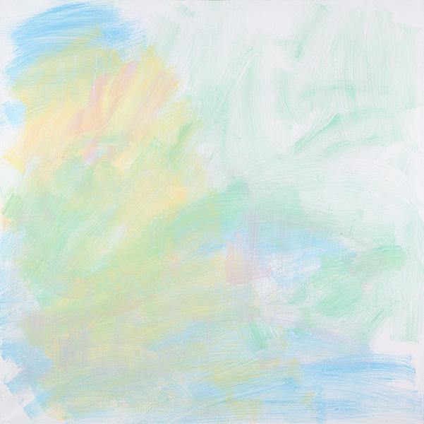 Untitled 8, acrylic on canvas, 100x100 cm, 2011