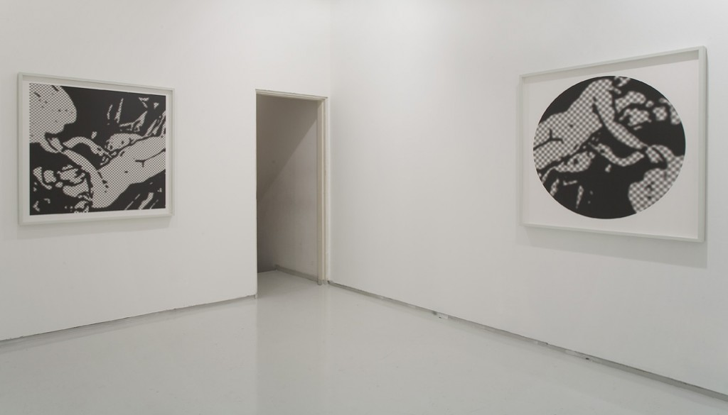 Joshua Borkovsky, Vera Icon, Installation view, Noga Gallery of Contemporary Art, 2008