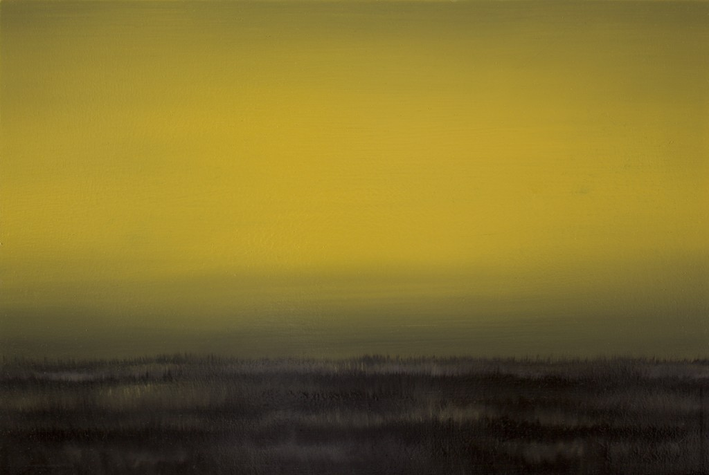 Yellow Field, Oil on canvas, 40x60cm, 2009