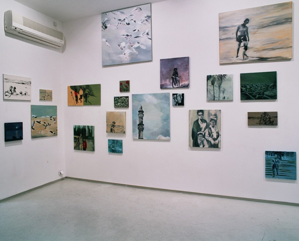 Ill pull the sky for you, Installation view, Noga Gallery of Contemporary Art, 2004