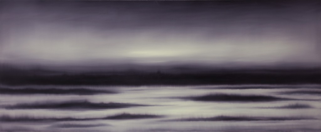 Light ash land, oil on canvas, 240x100cm, 2014