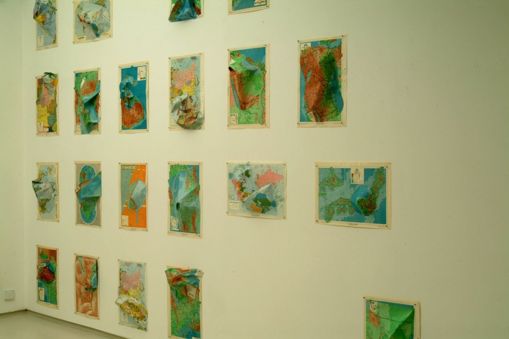 Intercontinental, Installation view, Noga Gallery of Contemporary Art, 2004