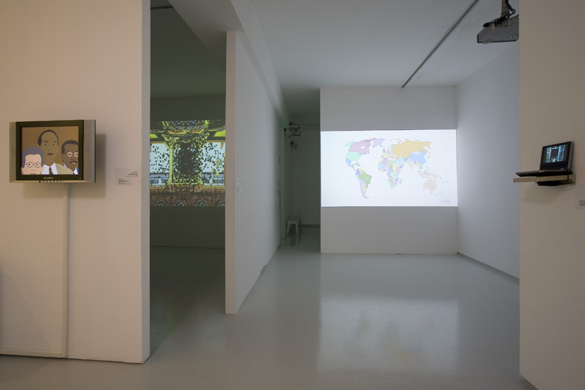 Animated Histories, Exhibition view, Noga Gallery of Contemporary Art, 2007